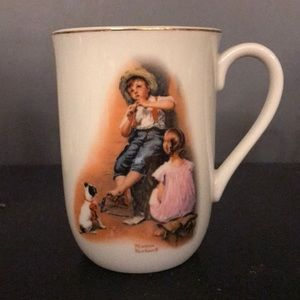 Norman Rockwell cup